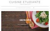 screenshot http://www.cuisine-etudiante.fr/ cuisine etudiant