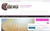 screenshot http://www.cuisinemalin.fr Cuisine malin recettes pour tous