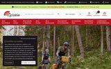 screenshot http://www.cyclable.com vélo hollandais, vélo electrique et vtc