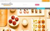 screenshot http://www.dabbawala.fr/ dabbawala - livraison de plateaux repas sur bordeaux