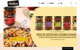 screenshot http://www.daucy.fr cuisine et recettes de légumes d'aucy