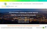 screenshot http://www.dauphitherm.com specialiste de pompe a chaleur air eau