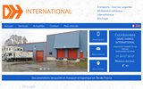 screenshot http://www.davidharrisintl.com/ transport routier national et international, 95
