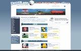 screenshot http://www.dediflash.com jeux flash gratuits
