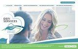 screenshot http://www.defiservices.fr entreprise de maçonnerie du sud de la france