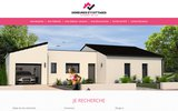 screenshot http://www.demeures-et-maisons-bois.com maisons en bois poitiers demeures et maisons bois