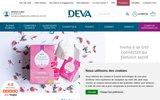 screenshot http://www.deva-lesemotions.com/ fleurs de bach