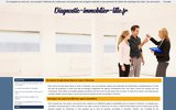 screenshot http://www.diagnostic-immobilier-lille.fr diagnostic immobilier lille
