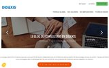 screenshot http://www.didaxis.fr/ Entreprise de portage salarial