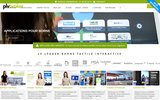 screenshot http://www.digital-broker.com borne tactile