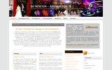 screenshot http://www.dj-macon.fr animation et animateur de mariage en saone et loir