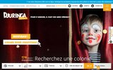 screenshot http://www.djuringa.fr colonies et vacances enfants et ados