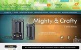 screenshot http://www.docteur-vaporisateur.com/index.php Docteur-Vaporisateur, le spécialiste vapo et cigarettes électroniques