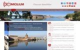 screenshot http://www.domicilium.fr domicilium - chasseur immobilier