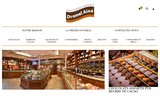 screenshot http://www.dromel-aine.com confiserie dromel ainé