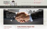 screenshot http://www.dubly-detective.fr agence de détective privé depuis 1923