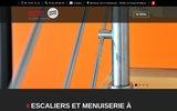 screenshot http://www.duffait-menuisier.fr escaliers doubs jura menuisier pontarlier