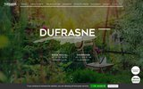 screenshot http://www.dufrasne.fr paysagiste nord