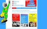 screenshot http://www.dve-service.fr/ dépannage électroménager toutes marques 37000