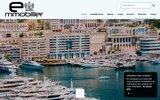 screenshot http://www.e-mmobilier.com portail d'annonces immobilières présent sur paca