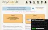 screenshot http://www.easyconf.fr easyconf