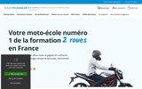 screenshot http://www.easymonneret.com Formation moto EasyMonneret