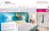 screenshot http://www.eclipse-lyon.fr hôtel à l'est de lyon