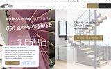 screenshot http://www.ed-ei.fr escalier métal : escaliers décors