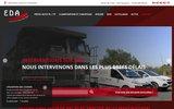 screenshot http://www.eda-nicolas.com/ Électricité dépannage autoEda