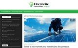 screenshot http://www.electricite-photovoltaique-sundgau.com électricien à belfort et mulhouse 68