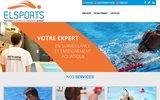 screenshot http://www.elsports.fr/ Externalisation de surveillance de piscine