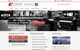 screenshot http://www.emaging.fr dépannage traceur hp à lyon
