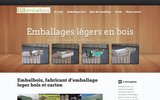 screenshot http://www.embalbois.fr emballage, bois, fruit et legume sur le 82 et 31