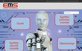 screenshot http://www.ems-securite.com/ vidéos surveillance et sécurité incendie