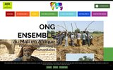 screenshot http://www.ensemble-humanitaire.com association humanitaire : ensemble humanitaire