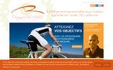screenshot http://www.entrainement-cyclisme.com entrainement