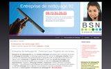 screenshot http://www.entreprisedenettoyage92.net entreprise de nettoyage 92