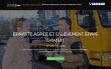 screenshot http://www.epave-enlevement-gratuit.fr/ Enlèvement épave
