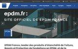 screenshot http://www.epdm.fr etancheite  des toitures