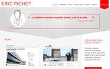 screenshot http://www.ericpichet.fr expert en finances publiques