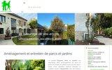 screenshot http://www.espaces-verts-et-jardins.fr La société Espaces Verts et Jardins est spécialisée dans l'aménagement