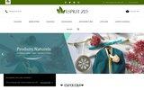 screenshot http://www.espritzd.fr Produits zéro déchet
