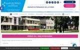 screenshot http://www.essonne.fac-metiers.fr/fac_des_metiers/presentation/ faculté des métiers de l'essonne