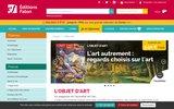 screenshot http://www.estampille-objetdart.com/ estampille