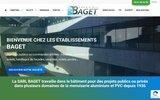 screenshot http://www.ets-baget.fr Baget