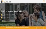 screenshot http://www.ets-pion.fr Ets Pion