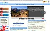 screenshot http://www.etudesaumaroc.com etudes supérieures au maroc