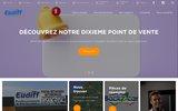 screenshot http://www.eudiff.fr eudiff pièces détachées et accessoires automobiles en seine maritime