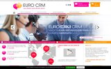 screenshot http://www.eurocrm.com Centre d'appels