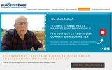 screenshot http://www.eurosystemes.fr vente de portail automatique en ligne